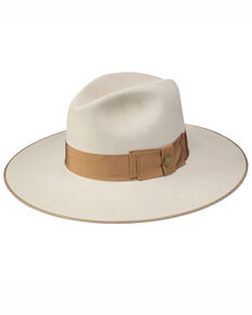 Stetson Silverbelly Tri-City Fur Felt Western Hat , Silver Belly, hi-res