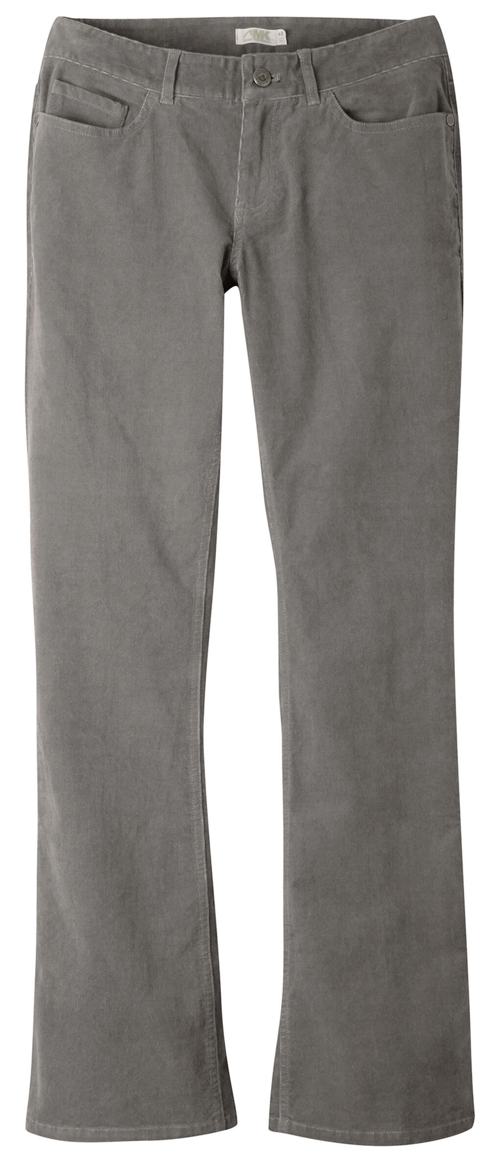 Mountain Khakis Women's Canyon Cord Slim Fit Pants - Petite, Dark Grey, hi-res