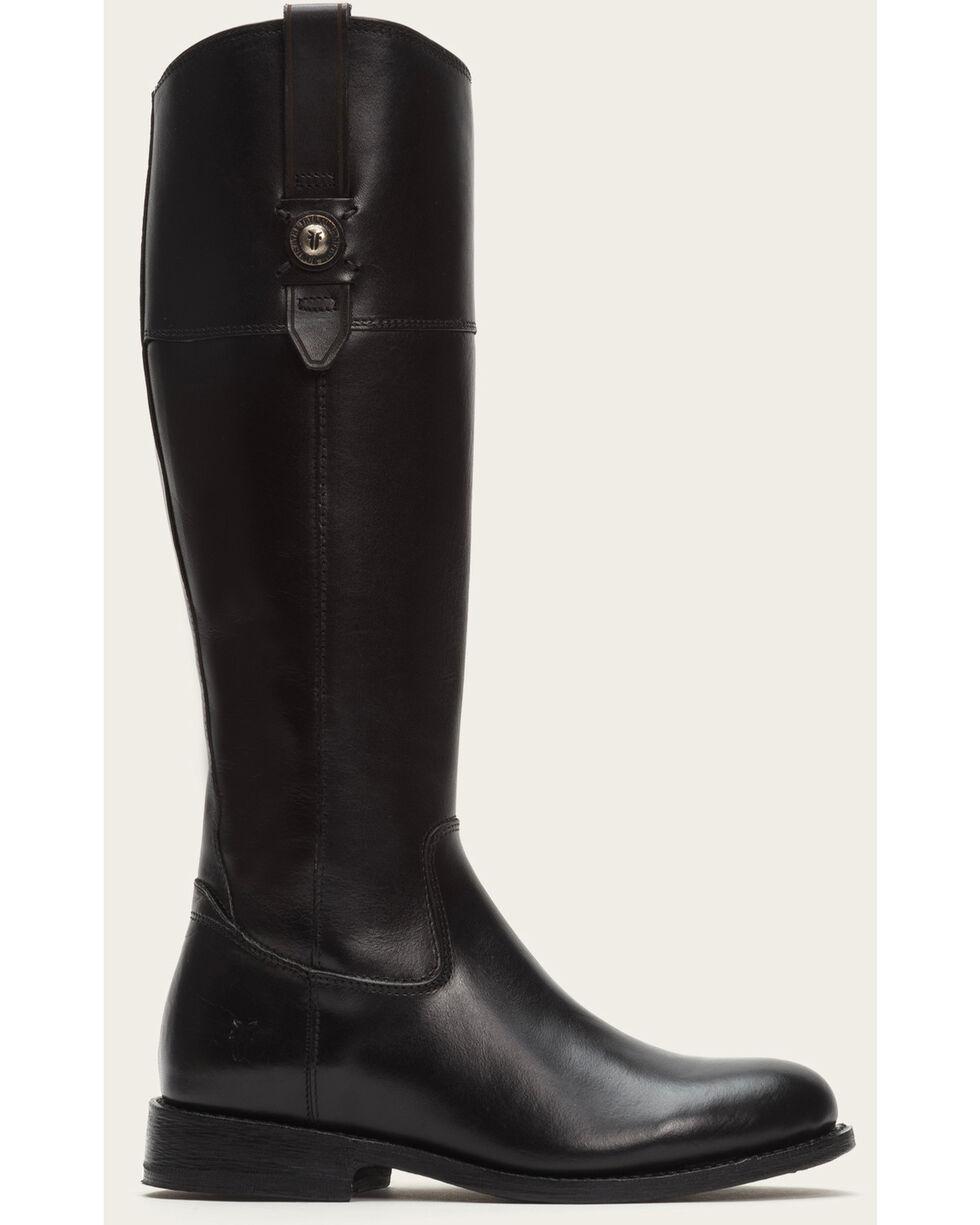 Frye Women's Black Jayden Button Tall Boots - Round Toe , Black, hi-res