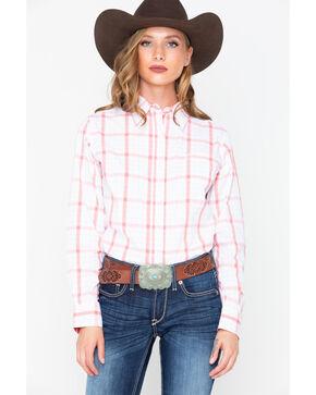 Wrangler Women's George Strait For Her Long Sleeve Shirt, Multi, hi-res