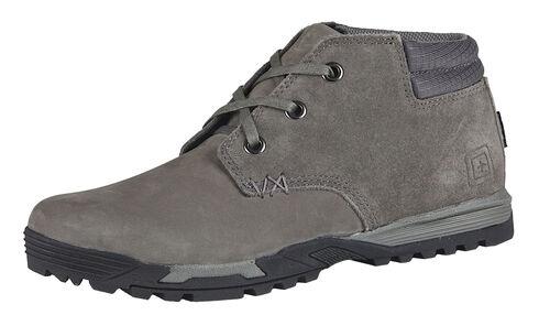 5.11 Tactical Men's Pursuit Chukka Boots, Gun Smoke, hi-res