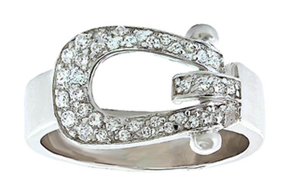 Montana Silversmiths Women's Stunning Stirrup Ring  , Silver, hi-res