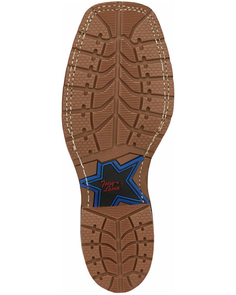 Tony Lama Men's Bowie Oak Western Boots - Wide Square Toe