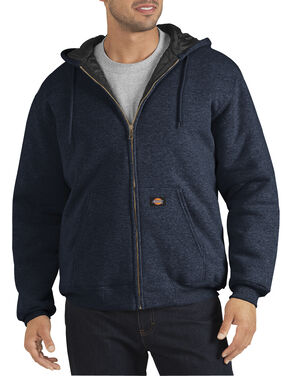 Dickies Heavyweight Quilted Fleece Zip-Up Hoodie - Big & Tall, Navy, hi-res