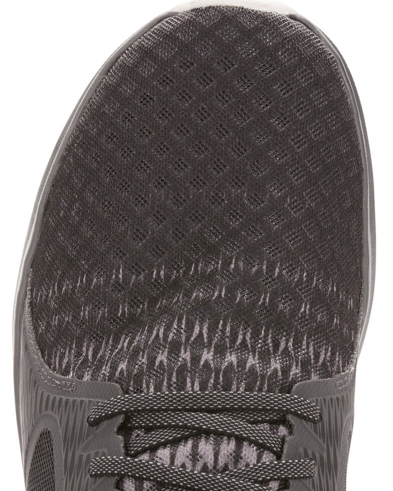 Ariat Men's Fuse Ombre Black Grey Mesh Shoes , Black, hi-res