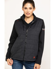 Ariat Women's FR Cloud 9 Insulated Jacket, Black, hi-res
