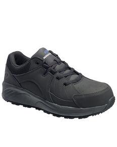 Nautilus Men's Black Work Shoes - Composite Toe, Black, hi-res
