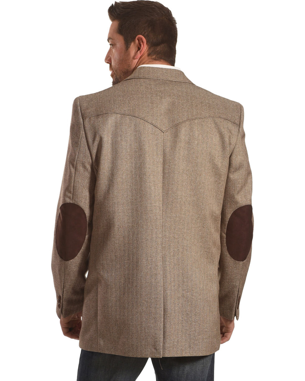 Circle S Men's Lubbock Donegal Brown Sport Coat - Reg & Long, Brown, hi-res
