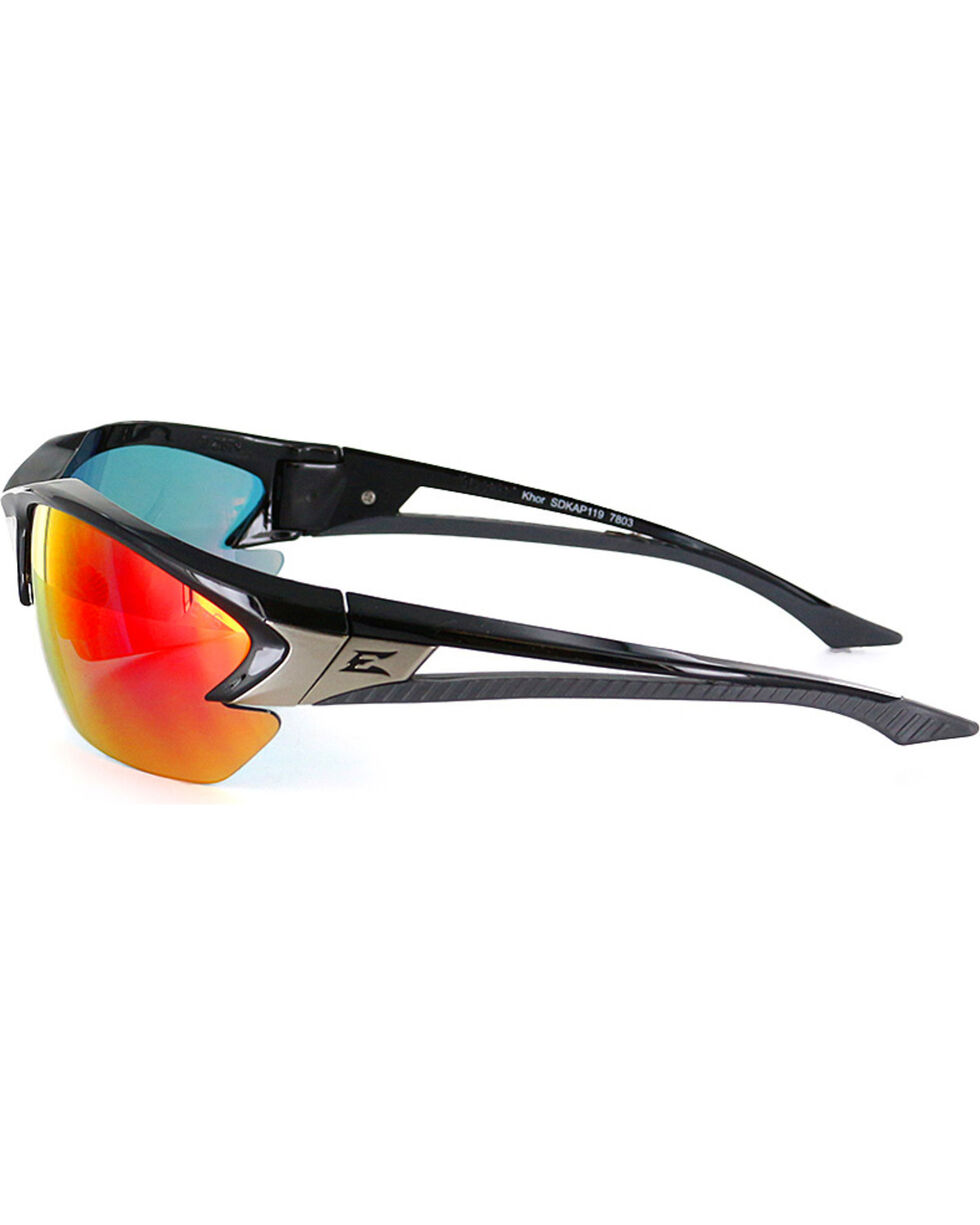 Edge Eyewear Khor Aqua Percision Safety Sunglasses, Black, hi-res