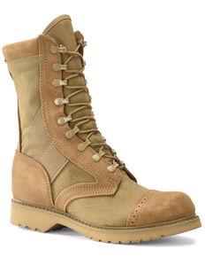 Corcoran Women's Marauder Coyote Military Boots - Soft Toe, Tan, hi-res
