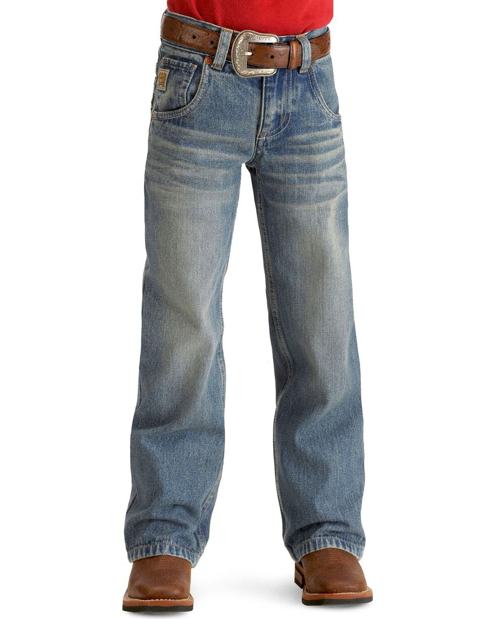 Cinch ® Boys' Tanner Slim Cut Jeans - 4-7 , Denim, hi-res
