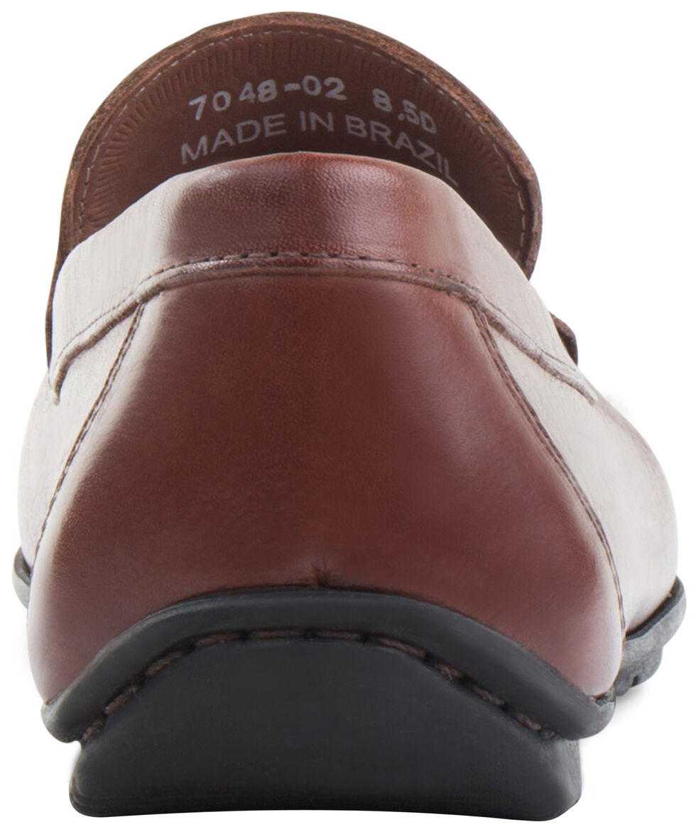 Eastland Men's Brown Talladega Driving Moc Loafers, Brown, hi-res