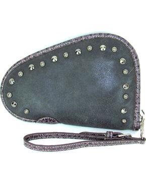 Savana Women's Studded Handgun Case , Black, hi-res