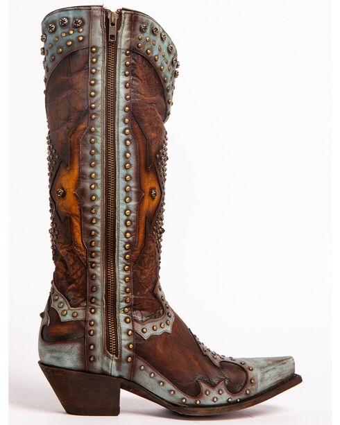 Dan Post Women's Brown Natasha Boots - Snip Toe, Brown, hi-res