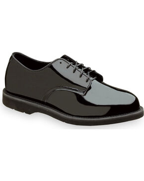 Thorogood Women's Uniform Classics Poromeric Oxfords, Black, hi-res