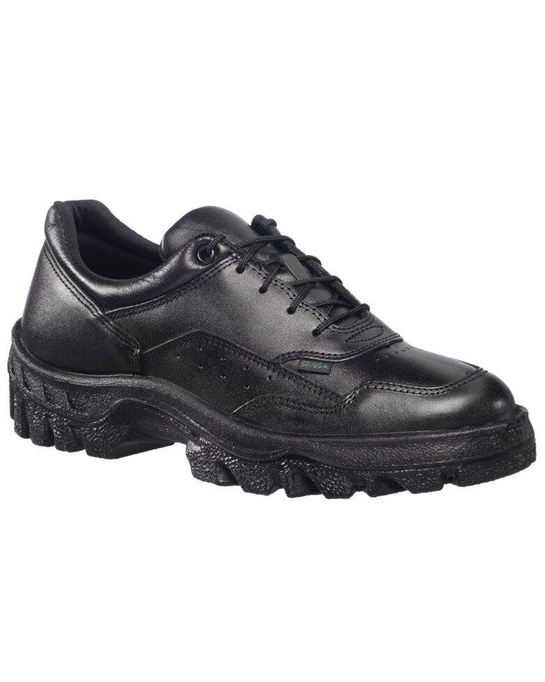 Rocky Women's TMC Duty Oxford Shoes - USPS Approved, Black, hi-res