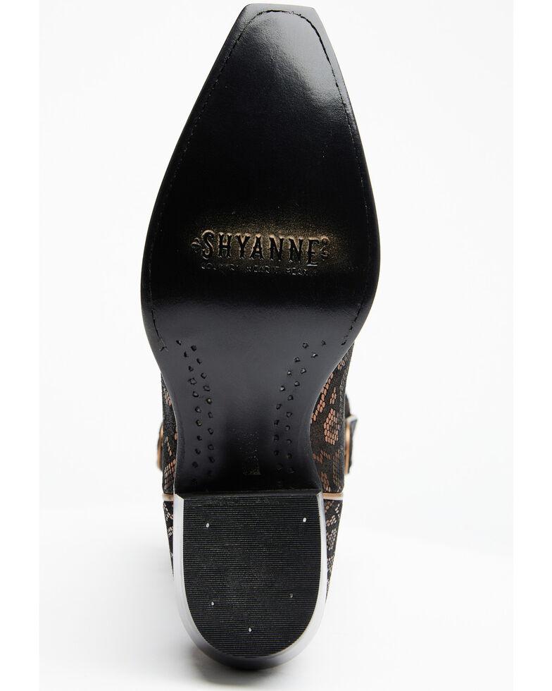 Shyanne Women's Belle Western Boots - Snip Toe, Black, hi-res