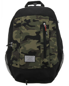 HOOey Rockstar Camo Backpack, Green, hi-res