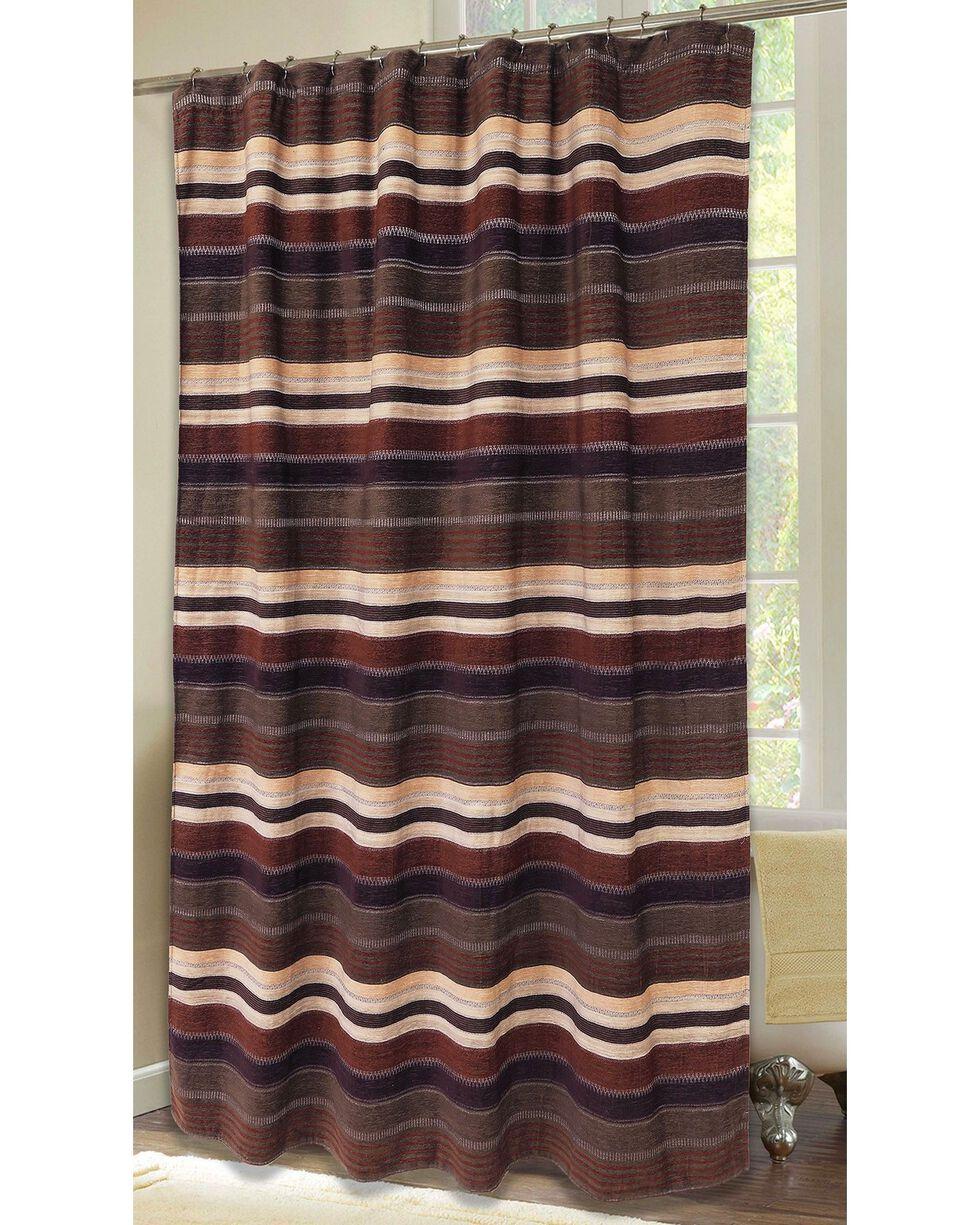 Carstens Old West Stripe Shower Curtain, Multi, hi-res