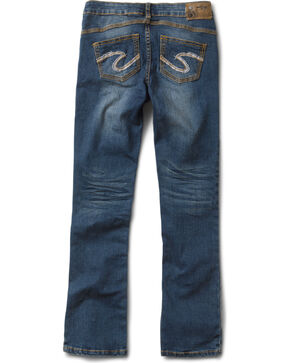 Silver Girls' Tammy Bootcut Jeans - 7-16, Denim, hi-res