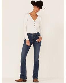 Wrangler Women's Kora Medium Wash Bootcut Jeans , Blue, hi-res