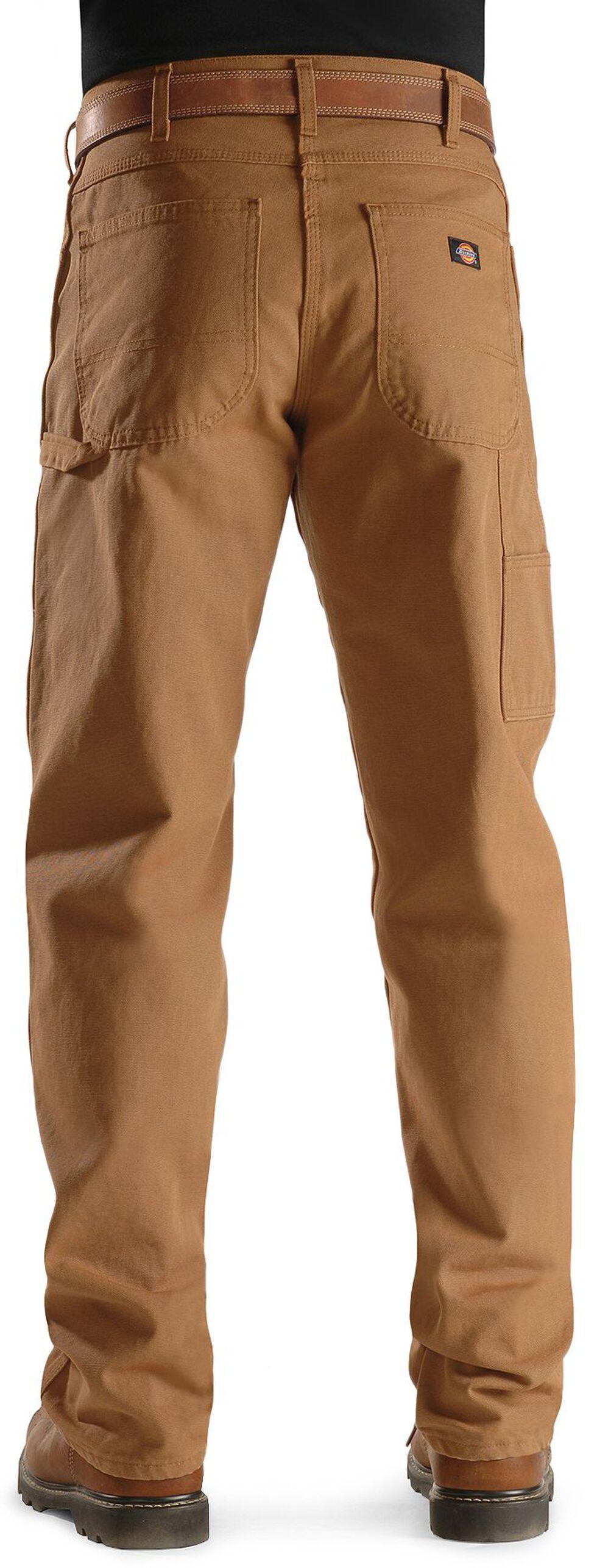Dickies Duck Twill Work Pants - Big & Tall, Brown Duck, hi-res