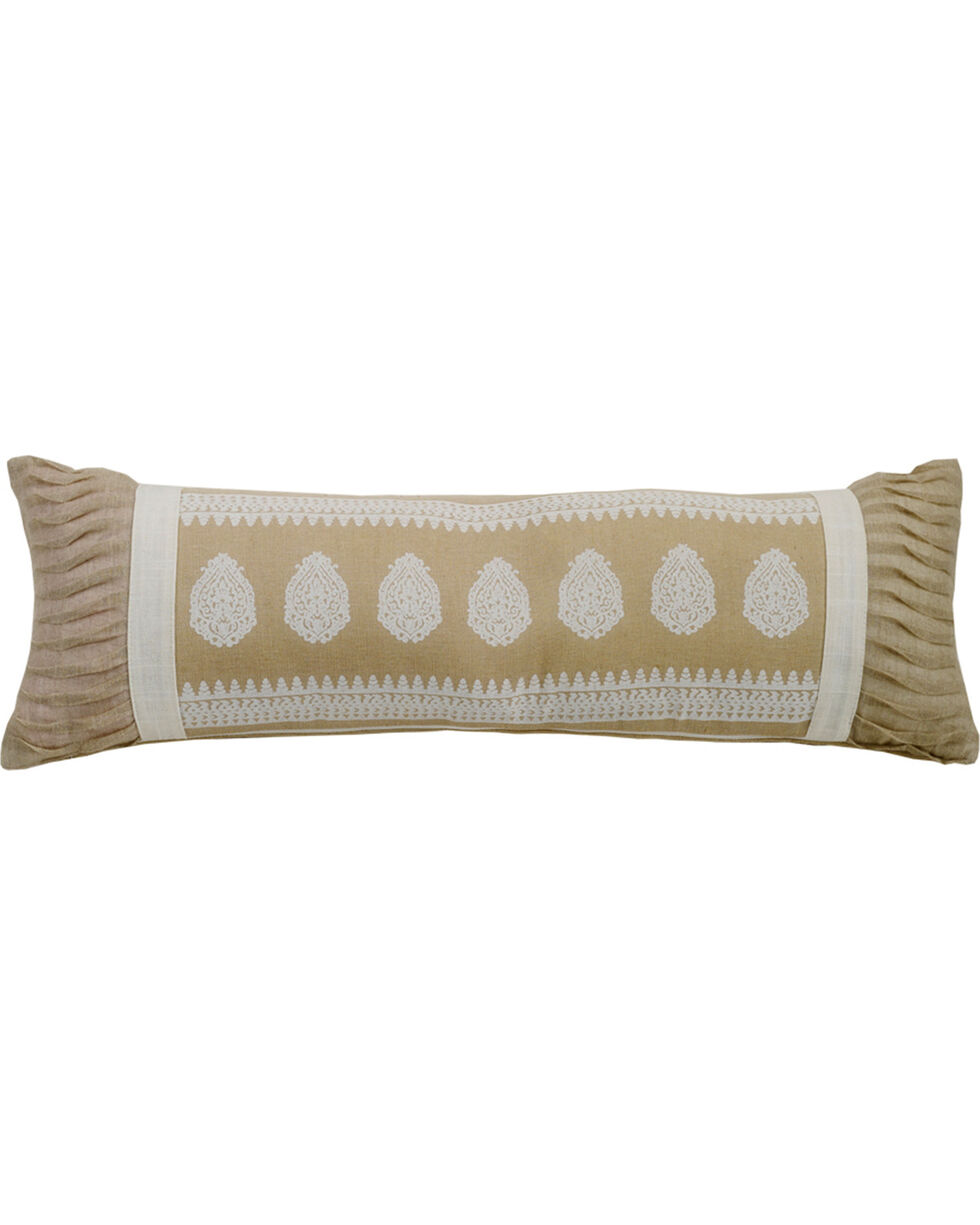HiEnd Accents Cream Newport Extra Long Pillow, Cream, hi-res