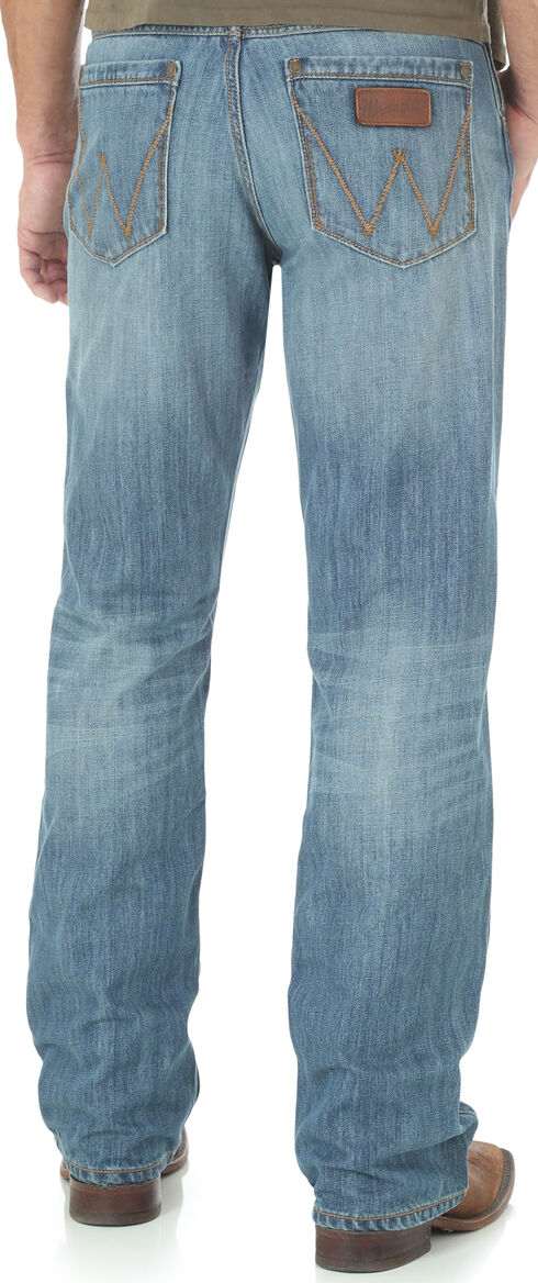 Wrangler Retro® Men's Blue Evanston Relaxed Jeans - Boot Cut, Blue, hi-res