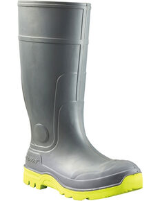 Baffin Men's Charcoal Duralife Brutus Work Boots - Round Toe , Charcoal, hi-res