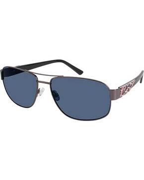 Realtree Gunmetal Max-4 Polarized Navigator Sunglasses , Black, hi-res