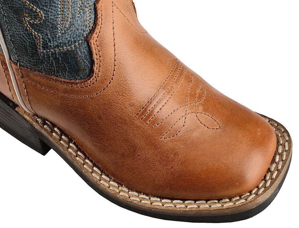 Old West Toddler Boys' Barnwood Cowboy Boots - Square Toe, Barnwood, hi-res