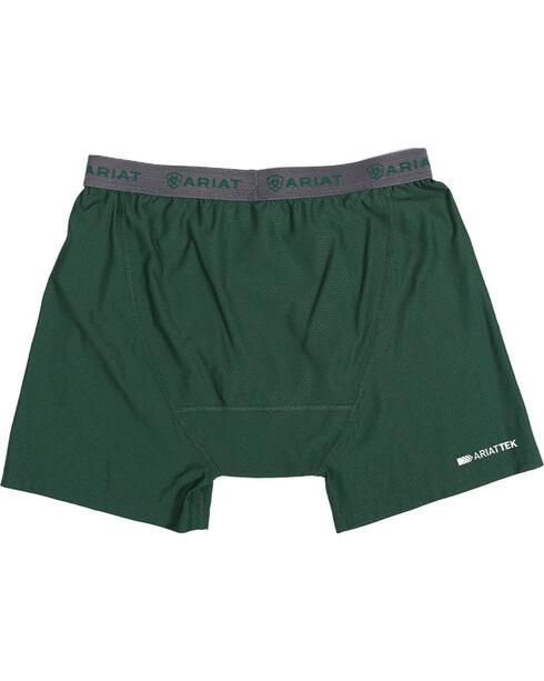Ariat Men's UnderTEK Boxer Briefs, Hunter Green, hi-res