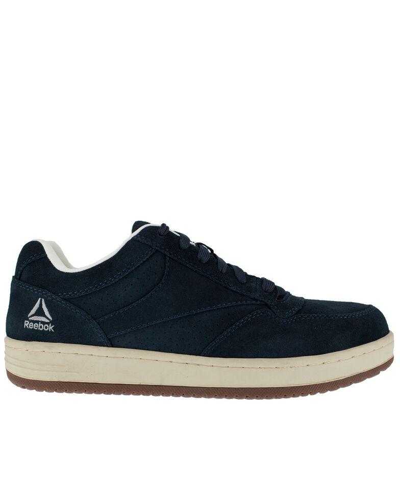 Reebok Women's Soyay Skate Work Shoes - Steel Toe, Blue, hi-res