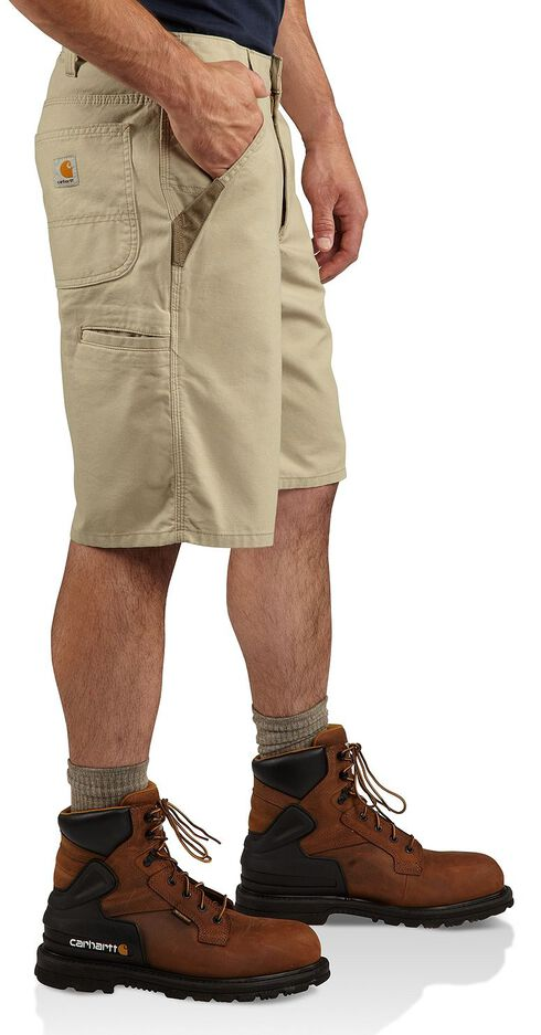Carhartt Iconic Canvas Work Shorts, Tan, hi-res