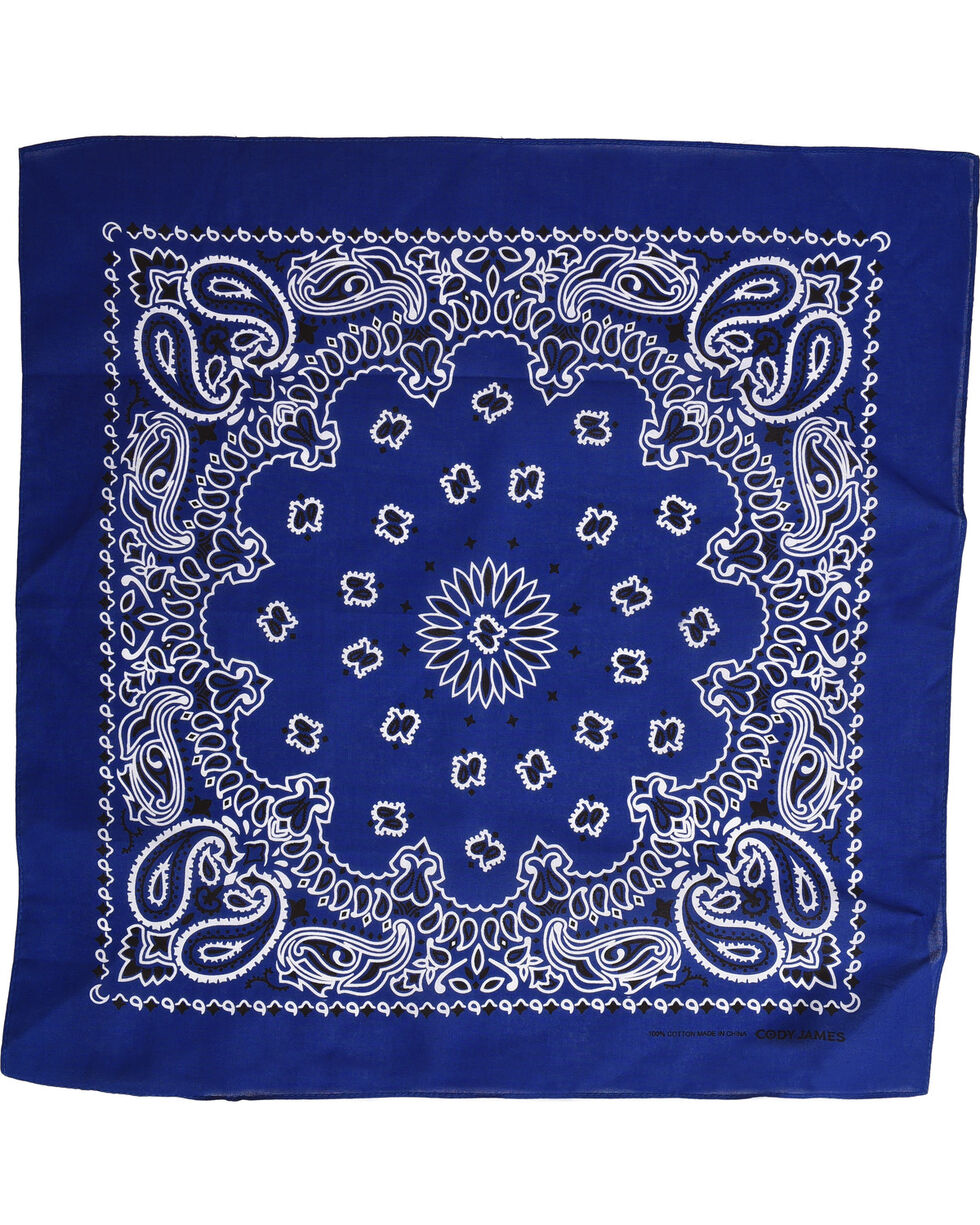 Shyanne Women's Royal Blue Bandana, Royal Blue, hi-res