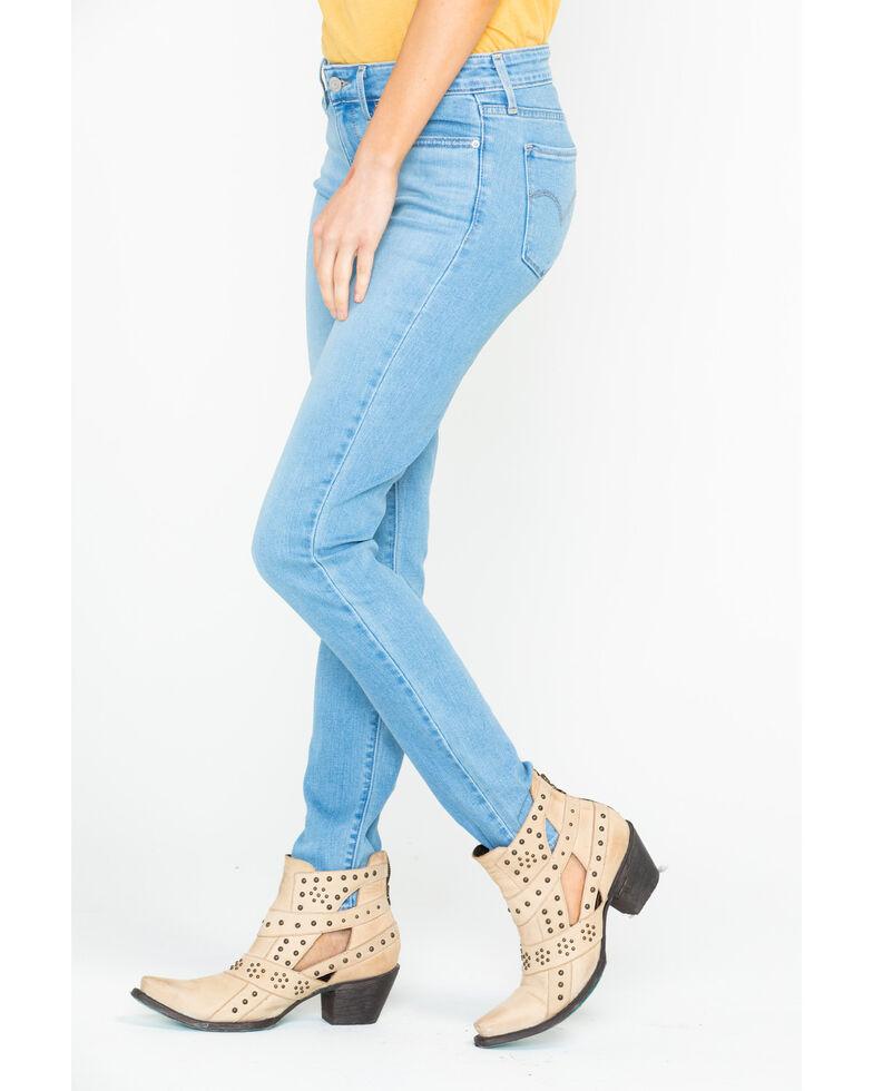 Levi's Women's Breezy Sea Classic Light Straight Jeans , Blue, hi-res