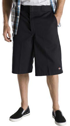 "Dickies 13"" Loose Fit Multi-Pocket Shorts - Big & Tall, Black, hi-res"