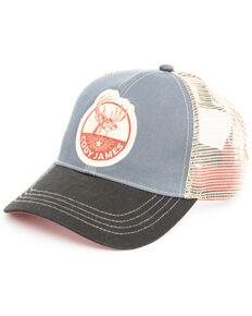 Cody James Men's Denim Deer Patch Cap , Blue, hi-res