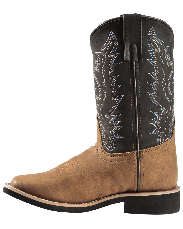 Swift Creek Boys' Cowboy Boots - Square