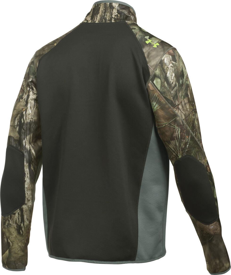 Under Armour Scent Control Armour Fleece 2.0 1/4 Zip Jacket, Mossy Oak, hi-res