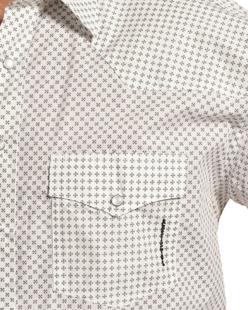 Resistol Men's White Manchester Snap Shirt , White, hi-res