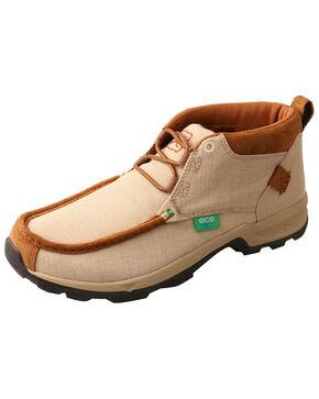 Twisted X Men's ECO TWX Hiker Shoes - Moc Toe, Tan, hi-res