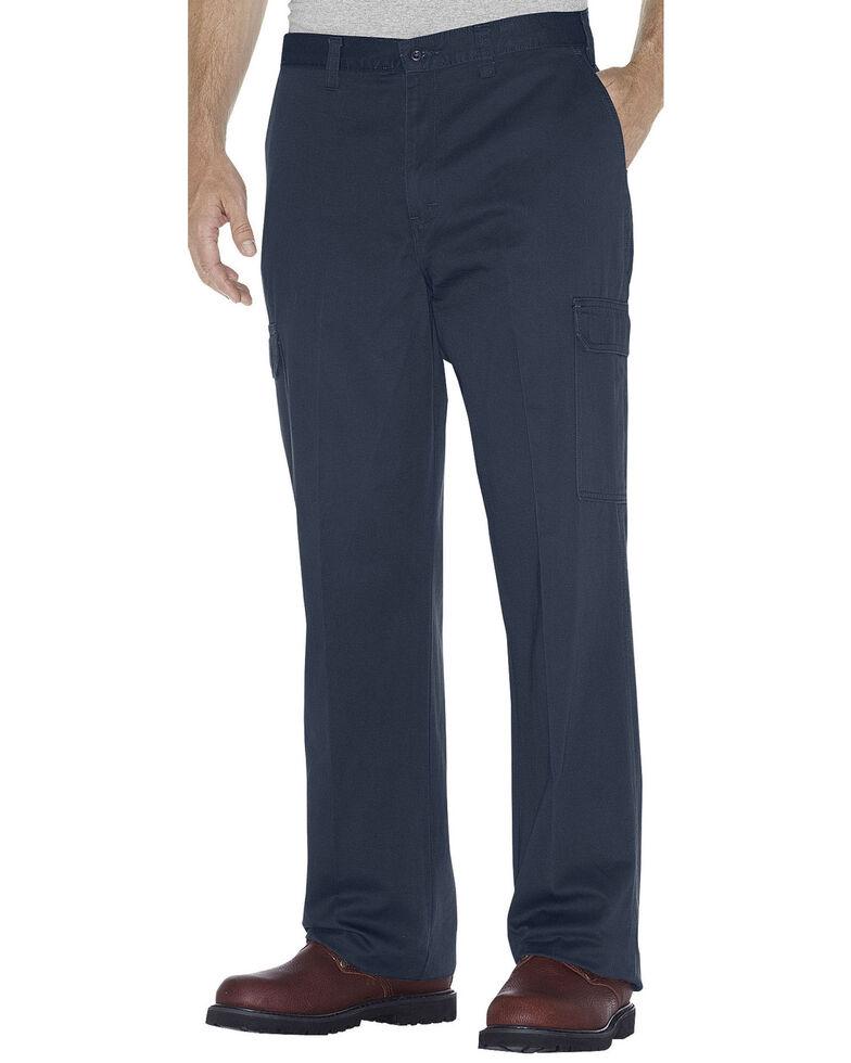 Dickies Loose Fit Cotton Cargo Pants - Big & Tall, Navy, hi-res