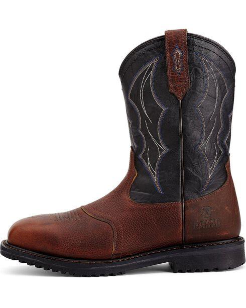 Ariat RigTek Waterproof Work Boots - Composition Toe, Brown, hi-res