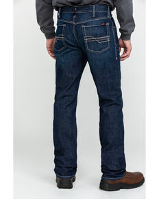 Ariat Men's FR M4 Durastretch Lineup Straight Work Jeans , Grey, hi-res