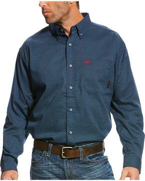 Ariat Men's FR Durango Long Sleeve Button Down Work Shirt, Multi, hi-res