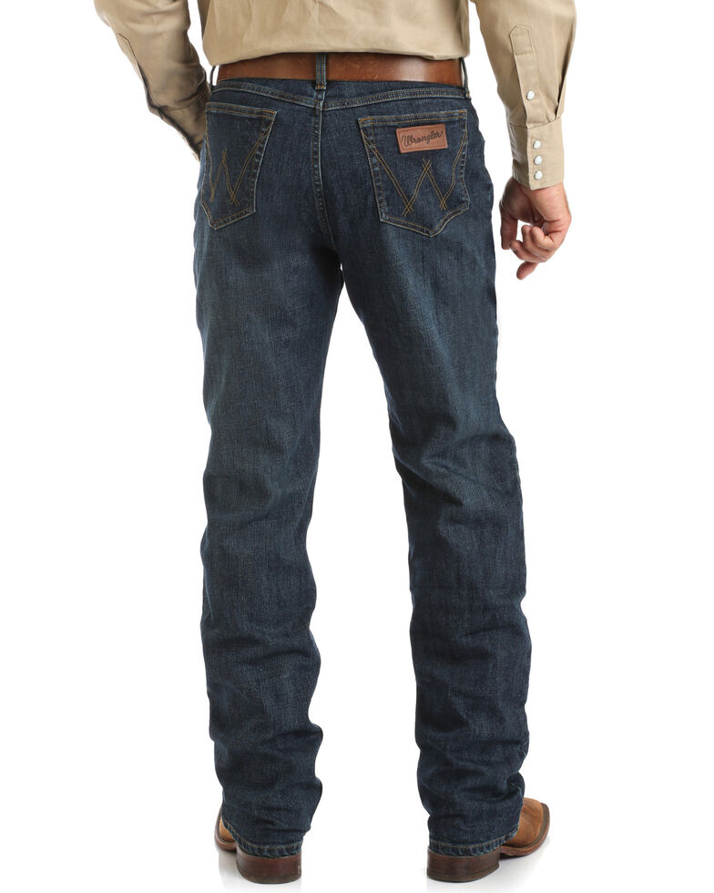Wrangler 20X Men's Thundercloud Competition Stretch Relaxed Boot Jeans  , Blue, hi-res