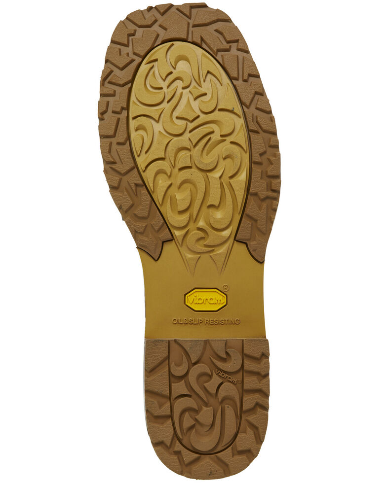 65fd5c005d7 Justin Men's Marshal Waterproof Western Work Boots - Steel Toe