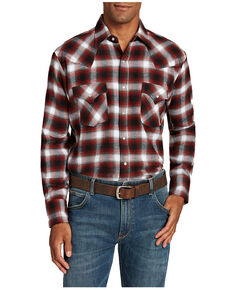 Ely Walker Men's Multi Assorted Flannel Long Sleeve Snap Western Shirt , Multi, hi-res