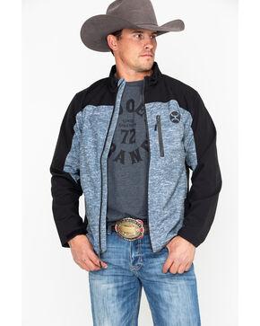 HOOey Men's Softshell Zip-Up Jacket , Black, hi-res